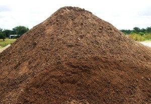 90% mulch, used mulch, less than year old.  Comes mixed with silt sock and some small amount of debris (soil, weeds, grass, waste).  What can we say, it's free!.  U only pay for delivery.